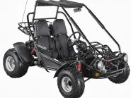 150cc Twister Dune Buggy Black Front