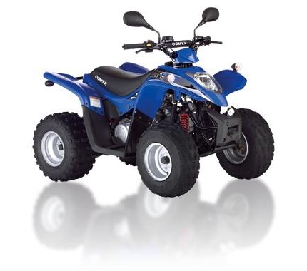 Kymco Maxxer 50 Quad 2 year warranty