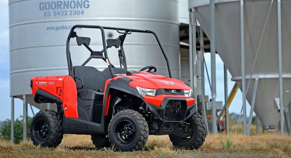 Kymco UXV 450i Side by Side 3 year warranty