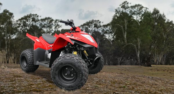 Kymco Mongoose 90S Quad 2 year warranty