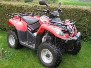 Kymco MXU 400 Quad  5 year warranty