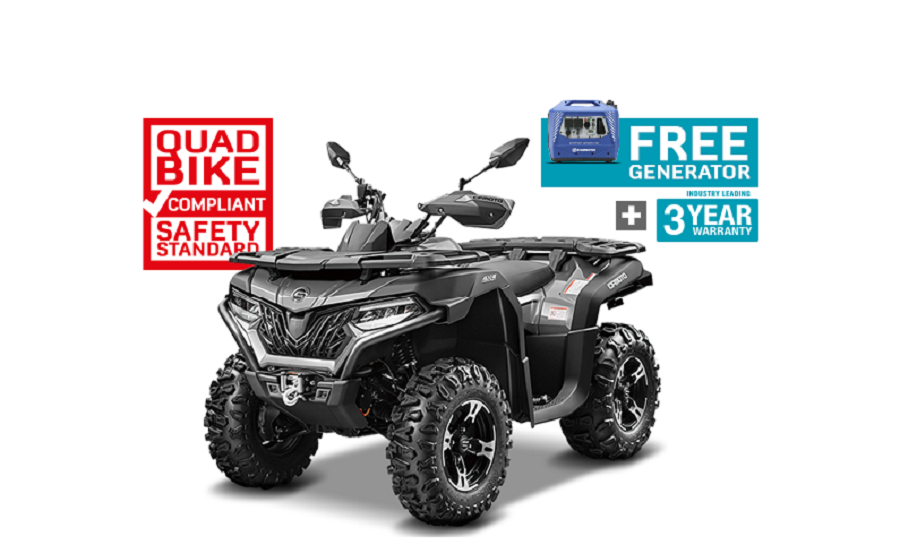 Latest Tax Time Deal For CFMOTO CFORCE 625 EPS & TOURING