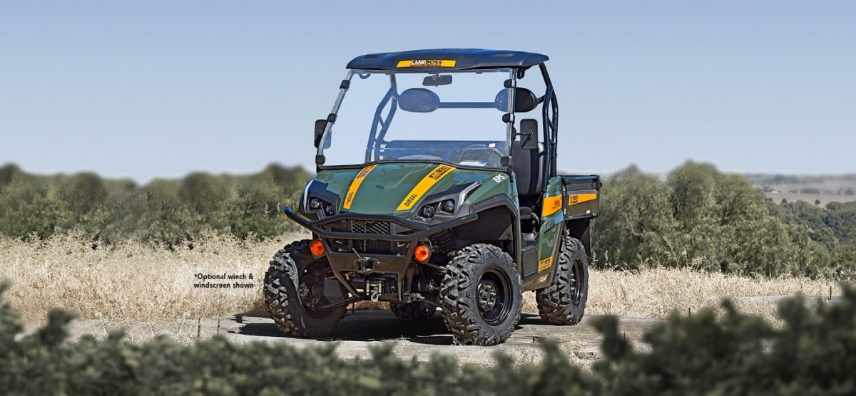 Dependable, durable and ready for work LANDBOSS Latest Brochure