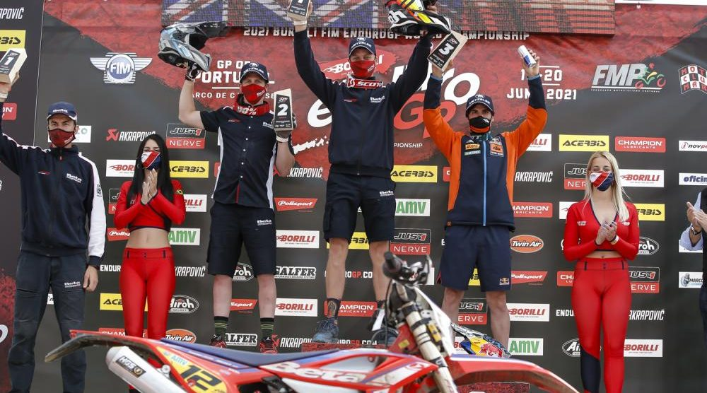 Beta dominates in the first round of the Enduro Gp in Portugal
