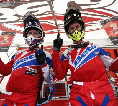BETAMOTOR IS ENDURO WORLD CHAMPION WITH FREEMAN AND HOLCOMBE