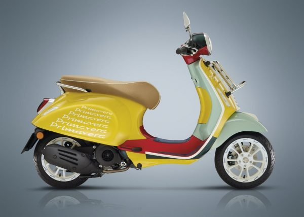 VESPA Primavera Sean Wotherspoon 50 Vibrant and Extraordinary